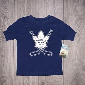 Official NHL Toronto Maple Leaf Kids Top NEW